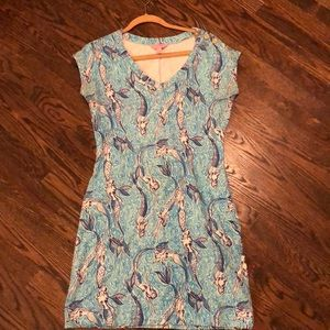 Lilly Pulitzer Hayley Dress in Nice Tail